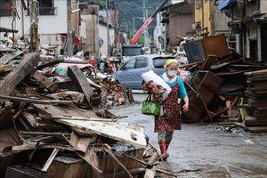 Lũ lụt tiếp tục hoành hành tại Nhật Bản và Trung Quốc