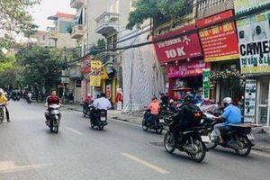 Hà Nội tổ chức giao thông thí điểm hai chiều trên đường Trương Định