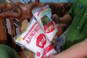 Đà Nẵng: Phát hiện cơ sở đóng gói mì chính, hạt nêm giả mạo các hãng nổi tiếng
