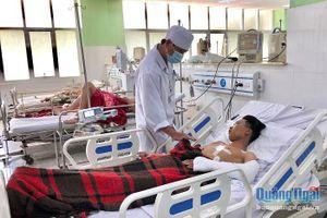 Bệnh nhân bị dập tim, phổi cùng lúc may mắn được cứu sống