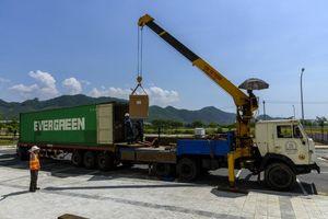 Đà Nẵng: Nhập khẩu máy móc thiết bị đầu tiên cho dự án công nghệ tại Khu Công nghệ thông tin tập trung