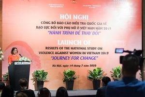 Công bố Báo cáo điều tra quốc gia về bạo lực đối với phụ nữ ở Việt Nam