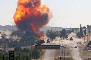 Phiến quân đánh bom đoàn xe Nga ở Syria