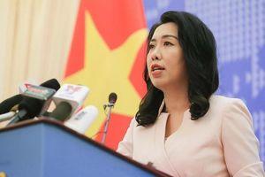 Người phát ngôn BNG phản ứng với tweet Biển Đông của bà Hoa Xuân Oánh