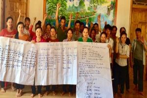 60 hộ nông dân tham gia tổ nhóm sản xuất quế ống sáo