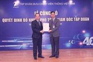 Tập đoàn VNPT bổ nhiệm hai Phó tổng giám đốc mới