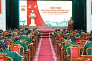 Tổ chức hội nghị Quân chính triển khai nhiệm vụ 6 tháng cuối năm 2020