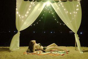 Hoa hậu Diễm Hương khoe ảnh bikini nóng bỏng, nhưng màn đối đáp 'ngã giá' lại gây chú ý hơn cả