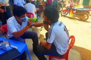 Đắk Lắk: Dừng nghỉ mát để dập dịch bạch hầu