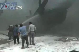 Iran: Cảng gần nhà máy điện hạt nhân cháy bí ẩn, 7 con tàu hư hại