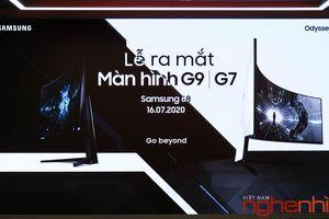 Samsung ra mắt màn hình Gaming Odyssey G7 và G9 giá từ 25,7 triệu đồng