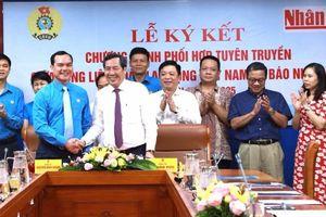 Đẩy mạnh tuyên truyền về công nhân và Công đoàn Việt Nam trên các ấn phẩm của Nhân Dân