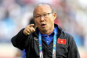HLV Park Hang Seo: 'Vấn đề lo lắng chỉ là vị trí của Duy Mạnh'