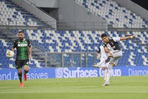 Kết quả Sassuolo 3-3 Juventus: 'Lão bà' hòa nghẹt hở