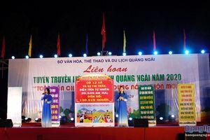 Liên hoan tuyên truyền lưu động tỉnh Quảng Ngãi năm 2020