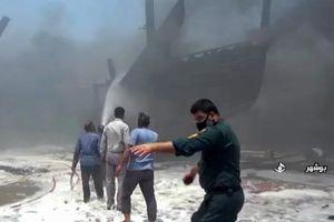 Hàng loạt tàu Iran bốc cháy dữ dội, sự cố bất thường tiếp diễn