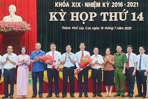 Thành phố Lào Cai có 2 tân Phó Chủ tịch UBND