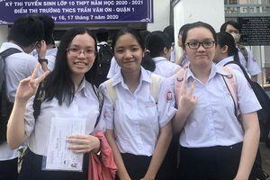 Thành phố Hồ Chí Minh: Đề thi tiếng Anh vào lớp 10 không quá khó