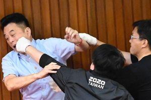 Lại xảy ra ẩu đả tại nghị viện Đài Loan