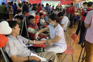Điện Biên: Hàng trăm cán bộ, viên chức tham gia chương trình 'Giọt hồng Điện Biên'