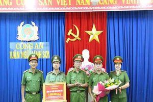 Đà Nẵng: Khen thưởng đột xuất các lực lượng công an phá án