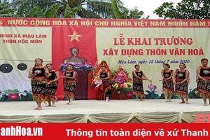 Sức lan tỏa phong trào toàn dân đoàn kết xây dựng đời sống văn hóa tại huyện Như Thanh