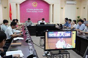 Hội nghị trực tuyến toàn quốc sơ kết công tác tư pháp