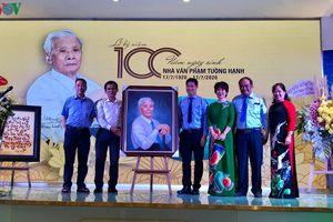 Kỷ niệm 100 năm ngày sinh nhà văn Phạm Tường Hạnh