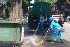 Hà Nội: 4 quận trung tâm đã hết rác tồn đọng