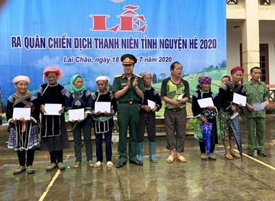 Lai Châu: Ra quân Chiến dịch thanh niên tình nguyện hè 2020