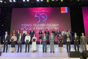 Nam Long vào 'Top 50 công ty kinh doanh hiệu quả nhất Việt Nam'