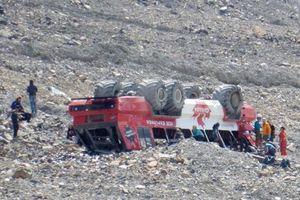 3 người chết trong vụ lật xe du lịch sông băng nổi tiếng ở Canada
