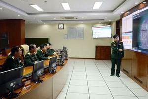 Xây dựng lực lượng tác chiến không gian mạng hiện đại, thế trận quốc phòng không gian mạng vững chắc