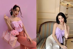 Học mỹ nhân Việt diện áo nơ hot trend vừa sexy vừa sành điệu