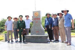 Đoàn công tác Ủy ban Biên giới quốc gia làm việc tại tỉnh An Giang