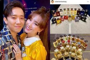 Trấn Thành chi trăm triệu mua 20 chai nước hoa dù vợ cảnh cáo, hỏi sao Hari Won không 'điên'