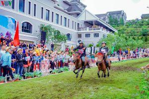 'Vó ngựa trên mây'- giải đua ngựa độc đáo trên mái nhà Đông Dương