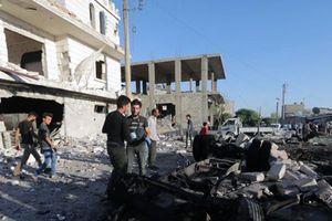 Ðánh bom xe ở Xy-ri