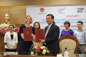 Ký kết hợp tác chiến lược giáo dục Việt Nam - New Zealand