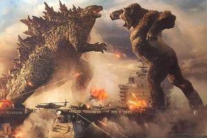 Hình ảnh đầu tiên của bom tấn 'Godzilla vs Kong' được hé lộ