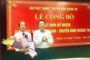 Đài Phát thanh - Truyền hình tỉnh Quảng Trị có Giám đốc mới