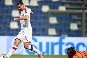 Ibrahimovic lập cú đúp cho Milan