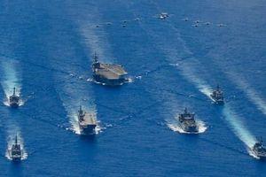 Cuộc tập trận hiếm hoi của 'Bộ tứ' Mỹ, Nhật, Ấn và Úc