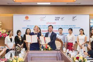 Việt Nam và New Zealand ký cam kết hợp tác chiến lược về giáo dục giai đoạn 2020 – 2023