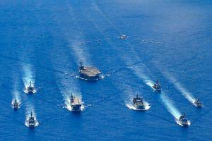 Úc, Nhật Bản và Mỹ tham gia vào cuộc 'tập trận ba bên'