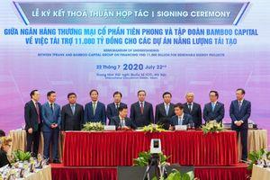 TPBank dành 11.000 tỷ đồng cho các dự án năng lượng tái tạo