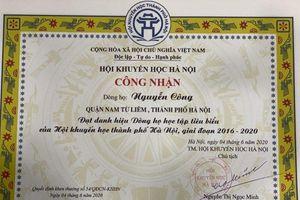Truyền thống hiếu học của Dòng họ Nguyễn Công Đại Mỗ