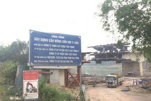 Cầu Đồng Sơn 1.163 tỷ nhiều sai phạm: Biết gì về CĐT Tân Thịnh?