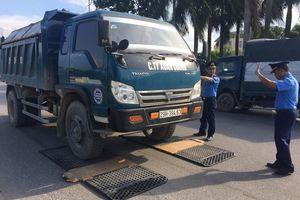 Tóm gọn hàng loạt xe 'hổ vồ' quá tải trên đường mòn Hồ Chí Minh