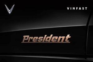 Bất ngờ xuất hiện hình ảnh mẫu xe 'siêu sang' VinFast President, giá 'dự đoán' tầm 7 tỷ đồng